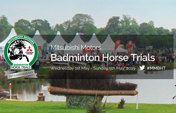 OSCAR Proud to Sponsor Badminton Horse Trials