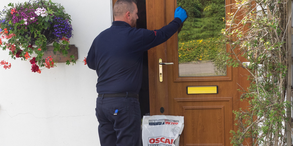oscar delivering to the door