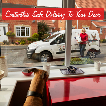 Contactless Safe Delivery of Pet Food