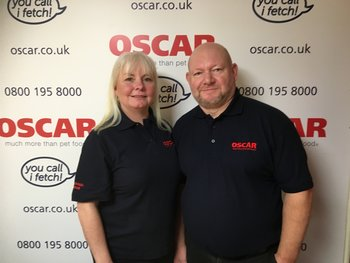 Warm welcome to John & Tina Lawrence, OSCAR East Sussex