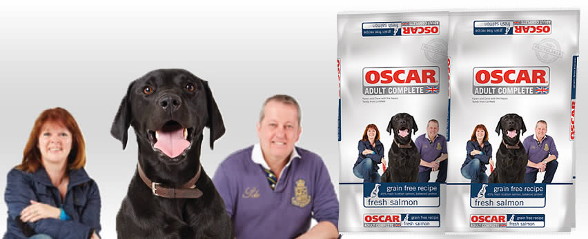 OSCAR grain-free fresh salmon dog food