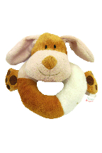 Natural Nippers Cuddle Plush Ring